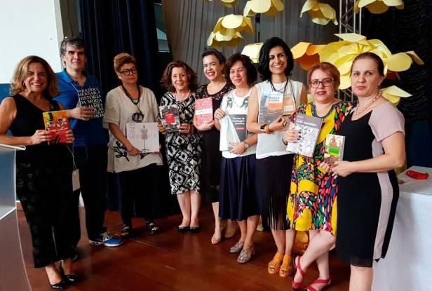 Autores da Editora Estação das Letras e Cores no Colóquio de Moda